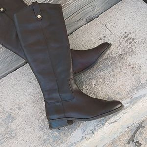NWT INC Fawne tall riding boot Size 7M